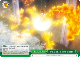 Fire God, Come Forth!