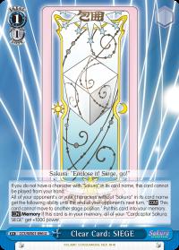 Clear Card: SIEGE