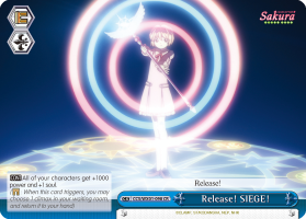 Release! SIEGE!