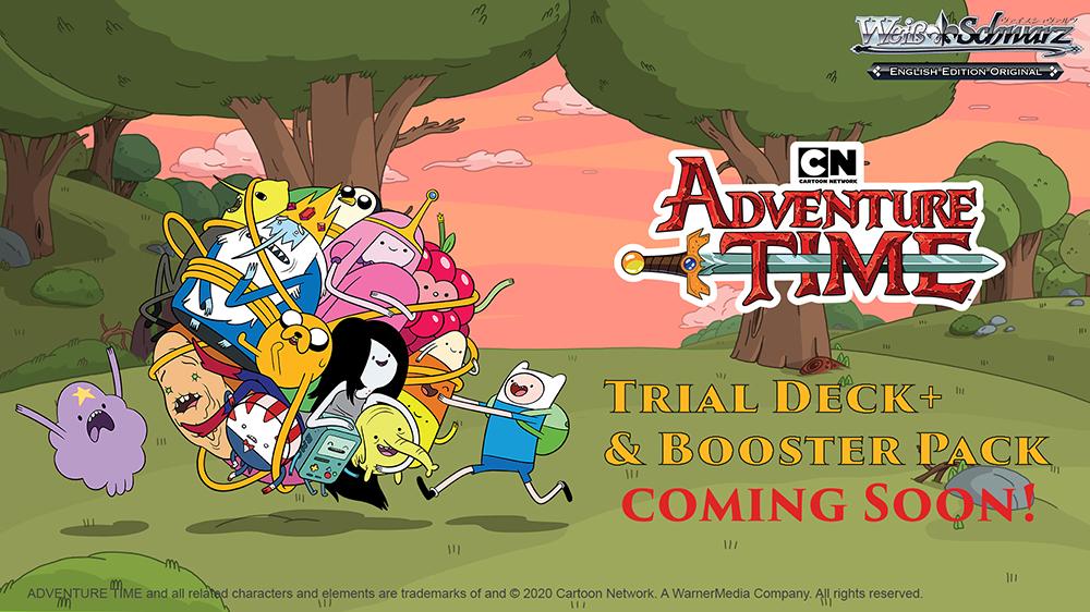Adventure Time in Weiß Schwarz