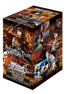 WSE Attack on Titan Booster Pack