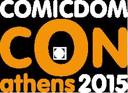 Comicdom-con Athens Logo
