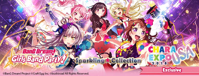 BanG Dream! Girls Band Party! Sparkling★Collection Top Banner