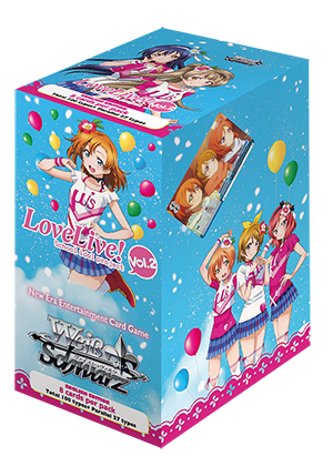 WSE Love Live! Vol.2 Booster Pack