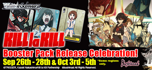 KILL la KILL Booster Pack Release Celebration