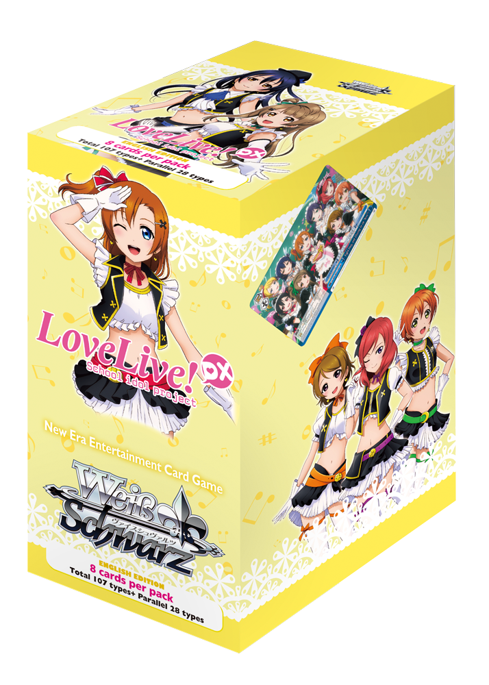 WSE Love Live! DX Booster Pack