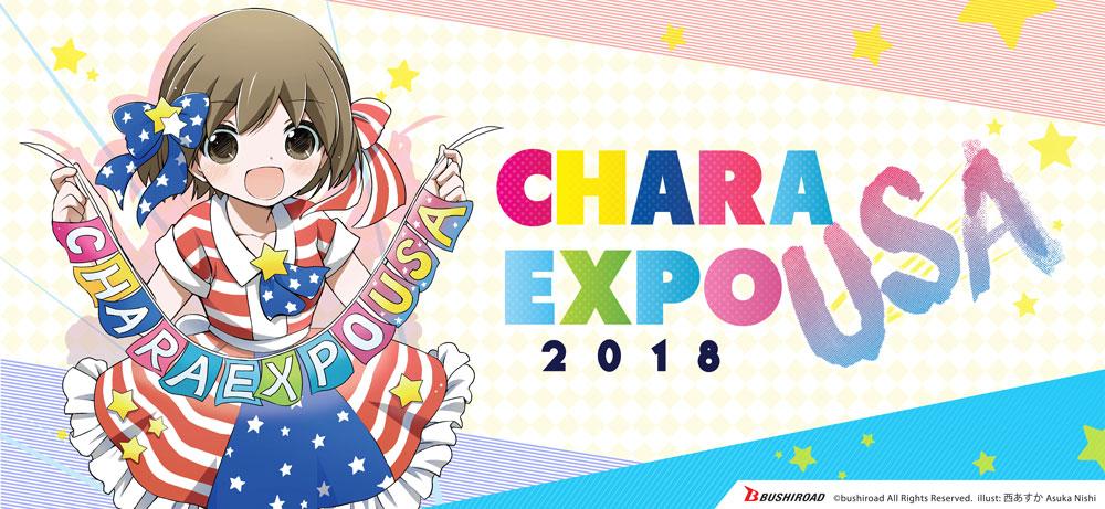 CharaExpo USA 2018!