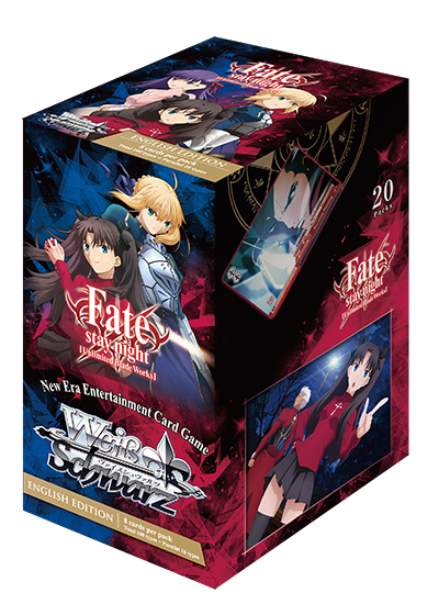 WSE Fate/stay night [UBW] Booster Pack