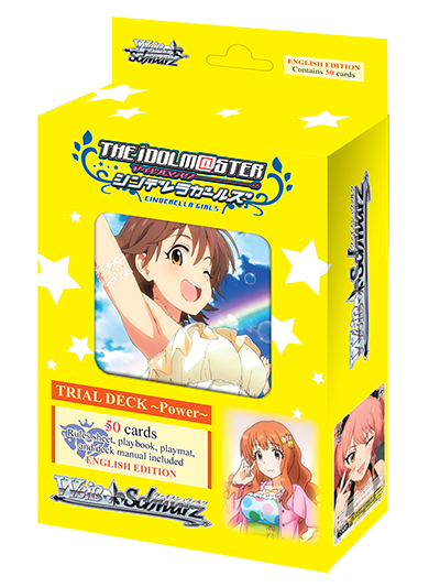 WSE Trial Deck THE IDOLM@STER CINDERELLA GIRLS ~Power~